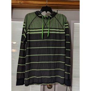Men's Striped Lightweight Pullover